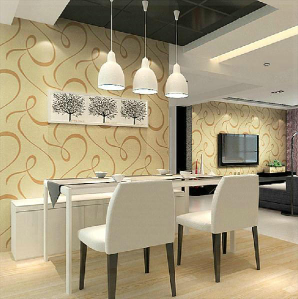 Attractive Living Room Contemporary Wall Panels Vignette - Wall Art ...