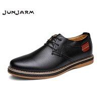 2017 New Arrival Handmade Men Oxfords Shoes Genuine Leather Men Dress Shoes Breathable Lace Up Men