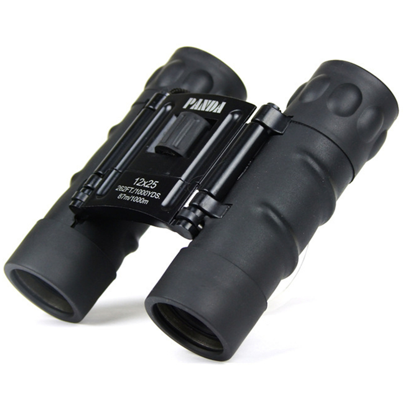 Binoculars Telescope P12X25 87M/1000M High Quality Hd Wide-angle Central Zoom Portable S ...