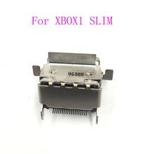12PCS HDMI พอร์ตสำหรับ Microsoft Xbox One S Slim ซ็อกเก็ต HDMI