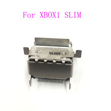 12PCS החלפת HDMI נמל מחבר עבור Microsoft Xbox אחד S Slim HDMI שקע