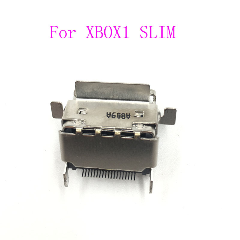 12PCS Replacement HDMI Port Connector For Microsoft Xbox One S Slim HDMI Socket