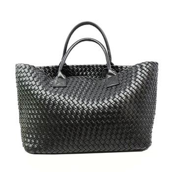 Women Bags designer Autumn fashion classic manual duplex woven handbag large bag Europe Ms. basket selling portable package