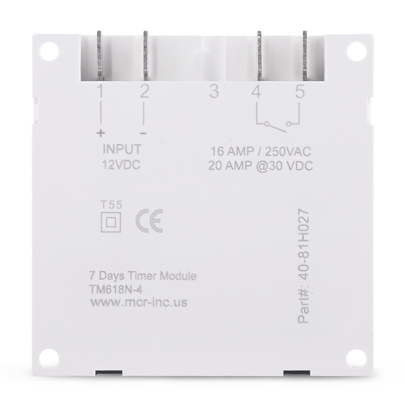 12/24 Formato 12 V DC Timer Switch 7 giorni 24 ore programmabile - Strumenti di misura - Fotografia 4