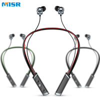Lastkings Wireless Bluetooth Headphone Neckband Sport Stereo Headset Waterproof Magnetic With Microphone Earphone For Phone