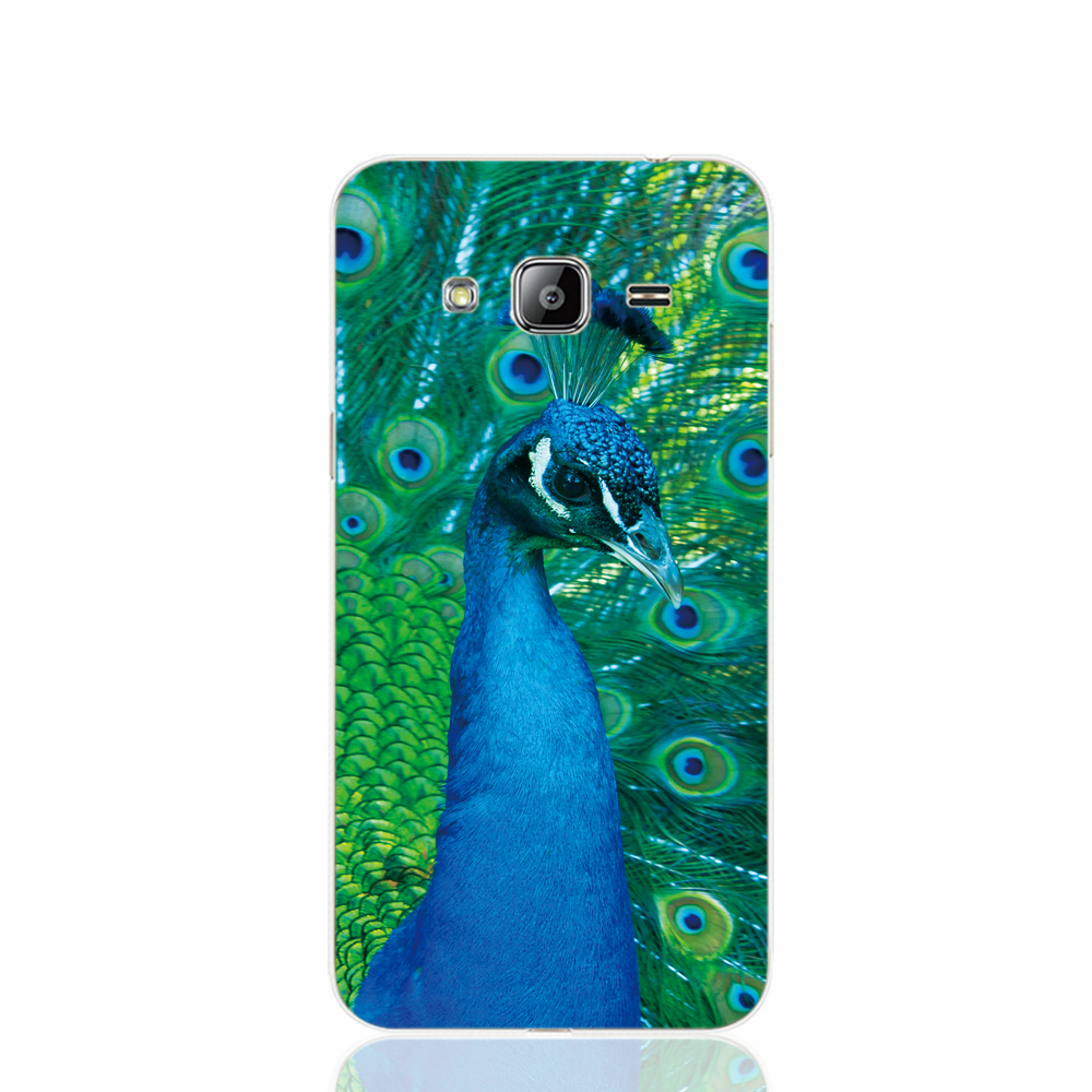 Pu leather case for samsung galaxy a7 2016 a710 peacock feather - 21767 Peafowl Peacock Cell Phone Case Cover For Samsung Galaxy J1 Ace J5 2016 J7 N9150