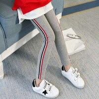 2018 New Spring Summer Autumn Girl Leggings Sports Elastic Girl Pants Children Kids Pants Girl Clothes