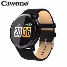 Cawono CW5 Цвет Сенсорный экран Smartwatch монитор сердечного ритма Смарт Спорт Фитнес Для мужчин Для женщин часы Носимых устройств для IOS Android