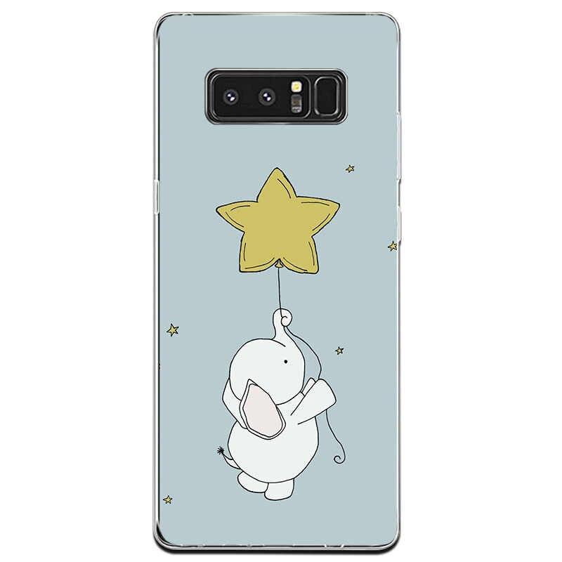 Dành cho Samsung Galaxy NOTE8 Ốp Lưng điện thoại Ốp lưng Dành Cho Samsung Galaxy NOTE9 vỏ coque Ốp lưng Túi chống sốc Dẻo Silicone Ốp lưng