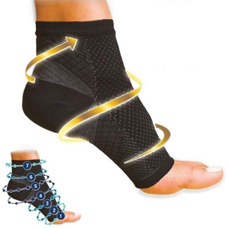 Chaussettes pour hommes et femmes, soulagement de la Circulation et du gonflement des pieds, Anti Fatigue et de Compression et de Compression des chevilles | AliExpress