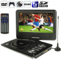 "9.0"" Portable DVD Portatil Player Swivel Widescreen Supports SD Card and USB Direct Play Reproductor de DVD Portatil"