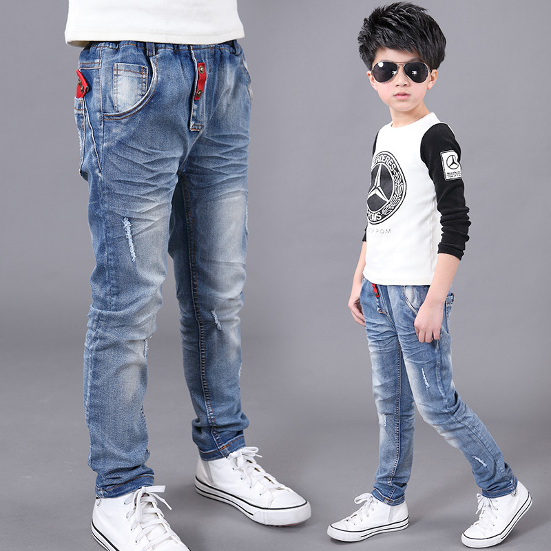 Online Buy Wholesale boys ripped jeans from China boys ripped