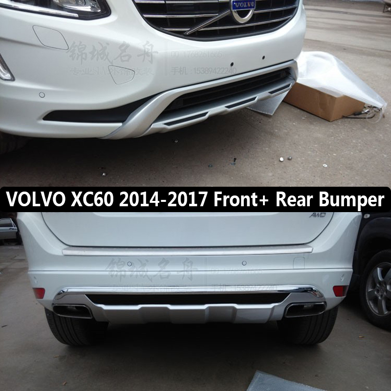 2015 Volvo Xc60 Review: Fit For VOLVO XC60 2014 2015 2016 2017 Front+ Rear Bumper