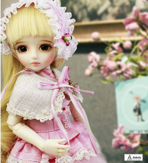 1/6 scale BJD Sweet cute kid girl hani BJD/SD lovely Resin figure doll DIY Model Toys.Not included Clothes,shoes,wig
