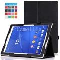 Для Sony Xperia Z4 Tablet Ультра Случае Тонкий Откидной Крышкой чехол для Sony Xperia Z4 Tablet Ультра 10.1 дюймов Andriod 5.0 устройство