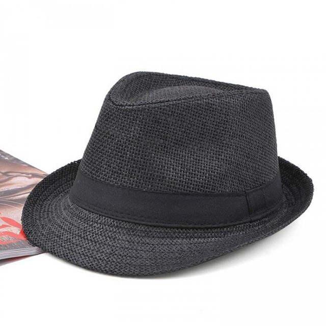 67e42fe8df1 placeholder SUOGRY Women Hat For Men Hat Ladies Summer Beach Cap Sun Hat  Female Panama Straw Male