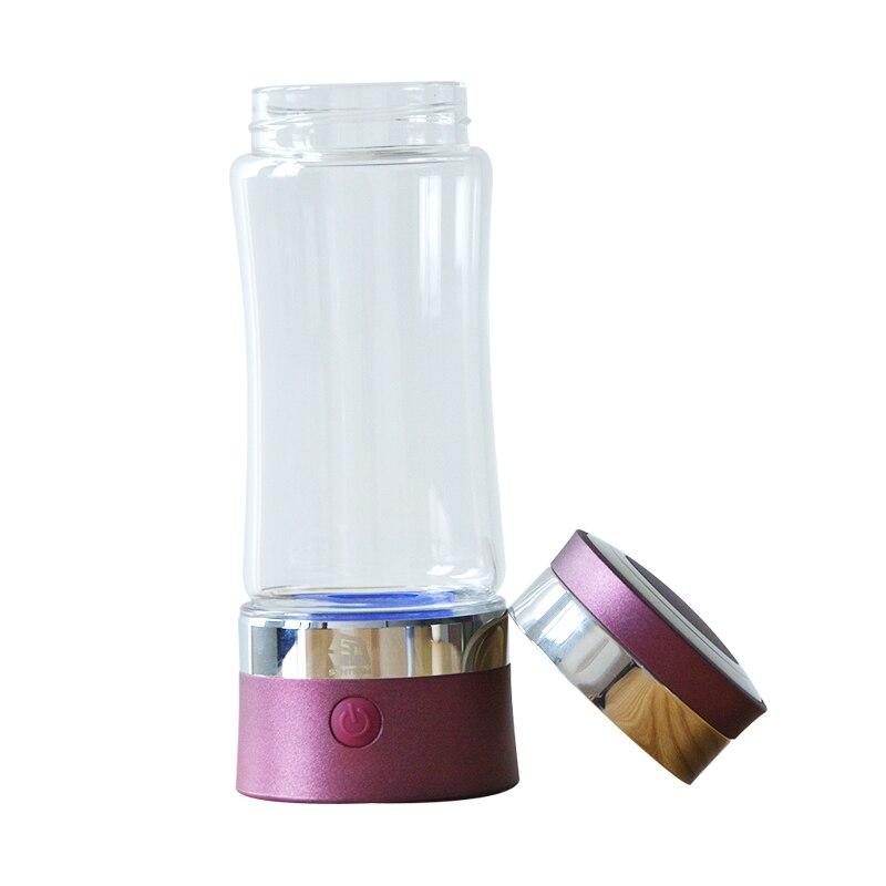 2 pieces/lot Hydrogen Water Bottle Anti Aging Healthy Gift Hydrogen