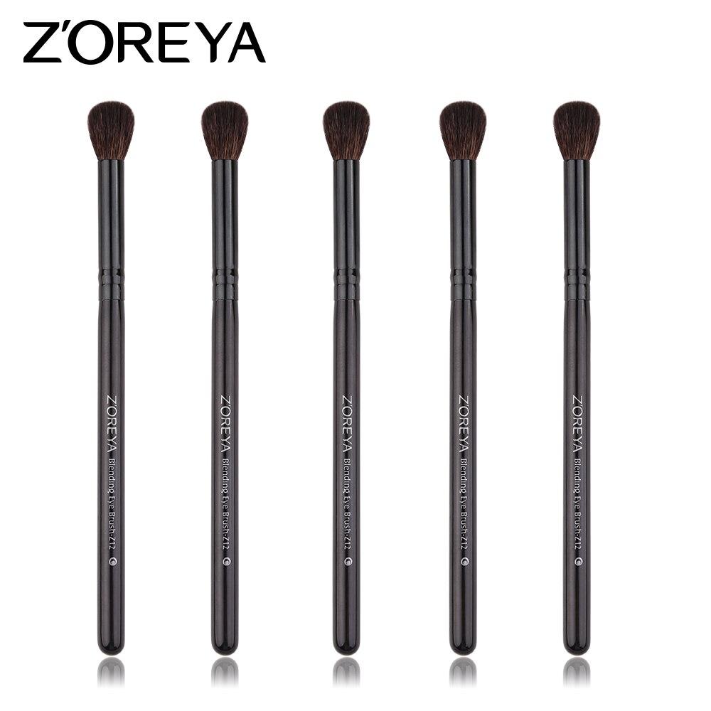 ZOREYA 1pc Natural Goat Hair Blending Brush For Eye Basic Makeup Brush As Eye Make Up Tool
