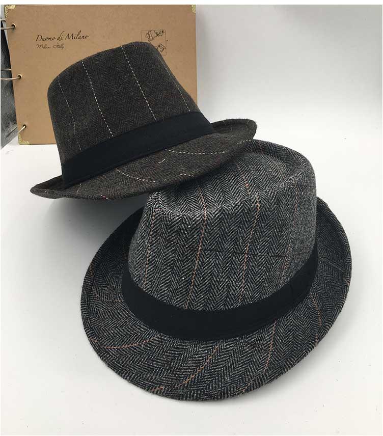 14dbc6482899a trilby hats for men black fedora hat vintage fedora hats for men (1) ...