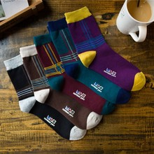 PEONFLY Originality Restore Ancient Ways Pure Cotton happy funny novelty Socks colorful men 5PAIRS LOT