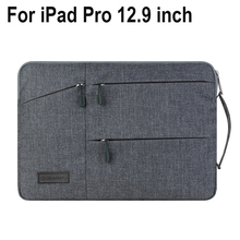 Creative Design Laptop Sleeve Pouch For iPad Pro 12.9 inch laptop For MacBook 13.3 inch High-capacity Bag Tablet Notebook Pouch
