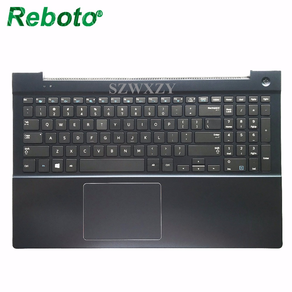 100 New Original High quanlity For Samsung NP880Z5E Laptop Keyboard With BA75 04742B Cover us English