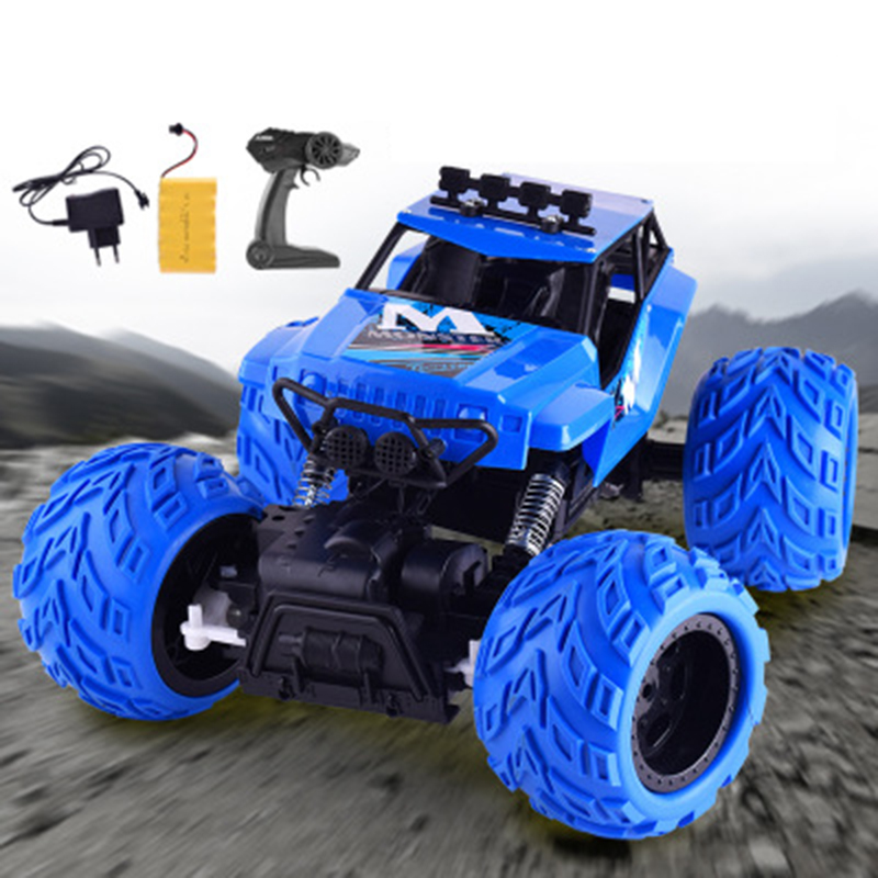 Children's High speed Remote Control Car Charging 2.4 g Remotely Controlled Stunt SUV Electric Vehicle Model