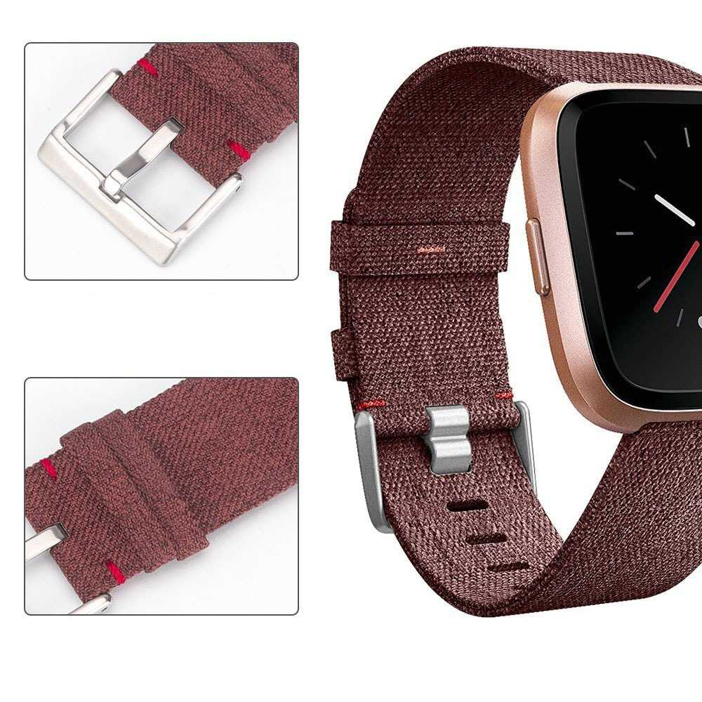 Soft Denim Wrist Strap For Fitbit Versa Smart Watch Wristband Soft  Watchband Replacement Smart Watch Band Smartwatch Strap