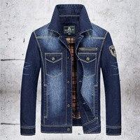 2015 Winter Jacket Men Casual Outdoor Denim Jacket Men Veste Homme Stone Is Land Size M