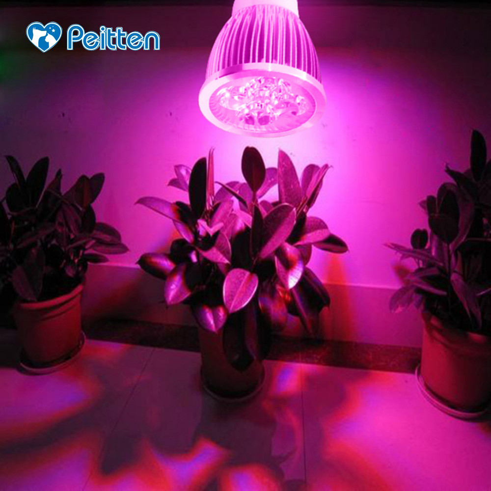 High Cup Plant Growth Lamp 15W Hydroponis