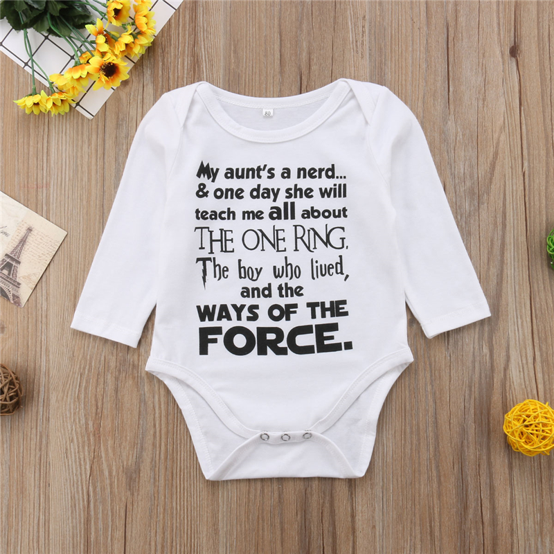 e207329ae4dd8a Newborn Baby Boy Cotton Long Sleeve Bodysuit Jumpsuit Clothes Outfit THE  BOY WHO LIVED Harry Potter-in Bodysuits from Mother & Kids on  Aliexpress.com ...