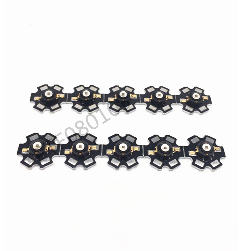 50pcs 3W 850nm / high power 940nm infrared LED beads launch dc1.5-1.7v 700mA base or PCB ...