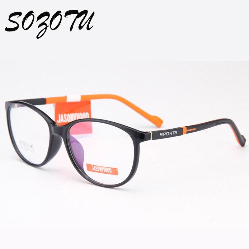 77c80a2f36 TR90 Student Spectacle Frame Children Myopia Prescription Eyeglasses  Optical Kids Glasses Frame ... S819 Yellow ...