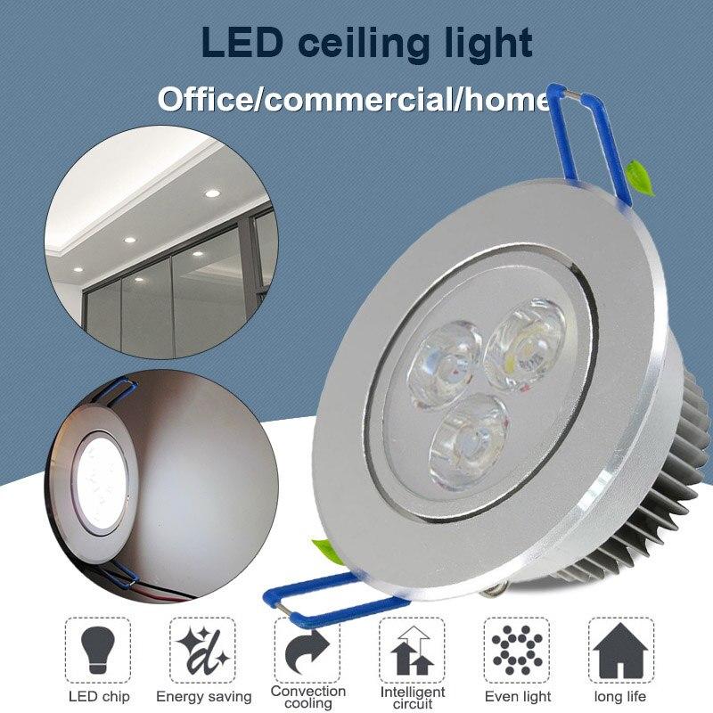 1 Pcs Led Licht Lampe Einbau Decke Unten Lampe 3 W Ersatz Für Home Office Hotel Tb Verkauf