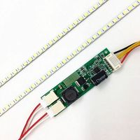 395mm LED Backlight Lamp Strip Kit Adjustable Brightness Update 19 19 Inch CCFL LCD Screen To
