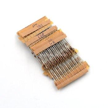 300PCS/LOT 1/6W 5% Carbon Film Resistor Kit Resistance Assortment Pack Mix Selection 10 ohm-1M ohm 30 Values Each 10PCS - sale item Passive Components