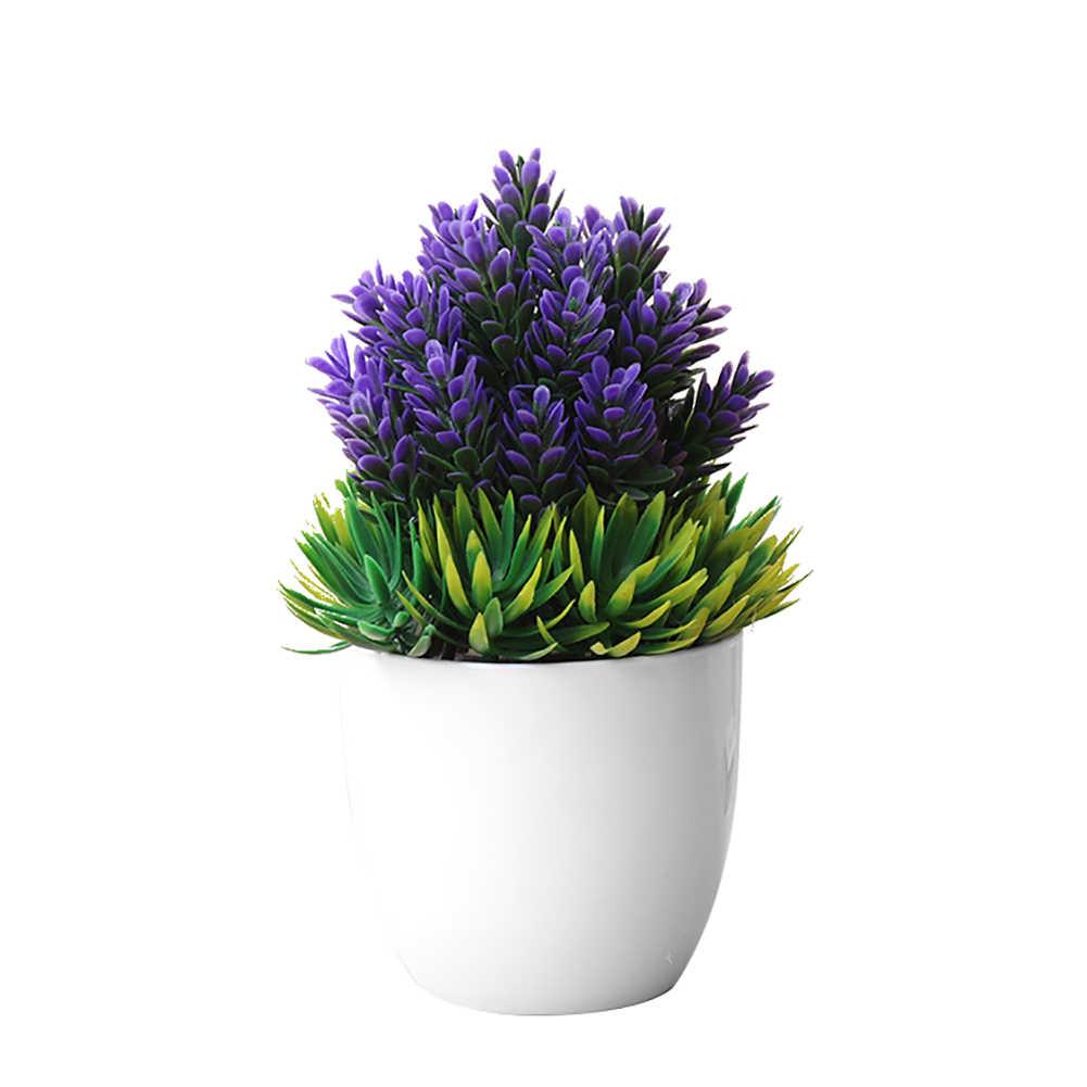 Модное искусственное маленькое дерево, Горшечное растение, искусственный бонсай, растения, настольный декор, украшения для дома, офиса, отеля, дома, сада