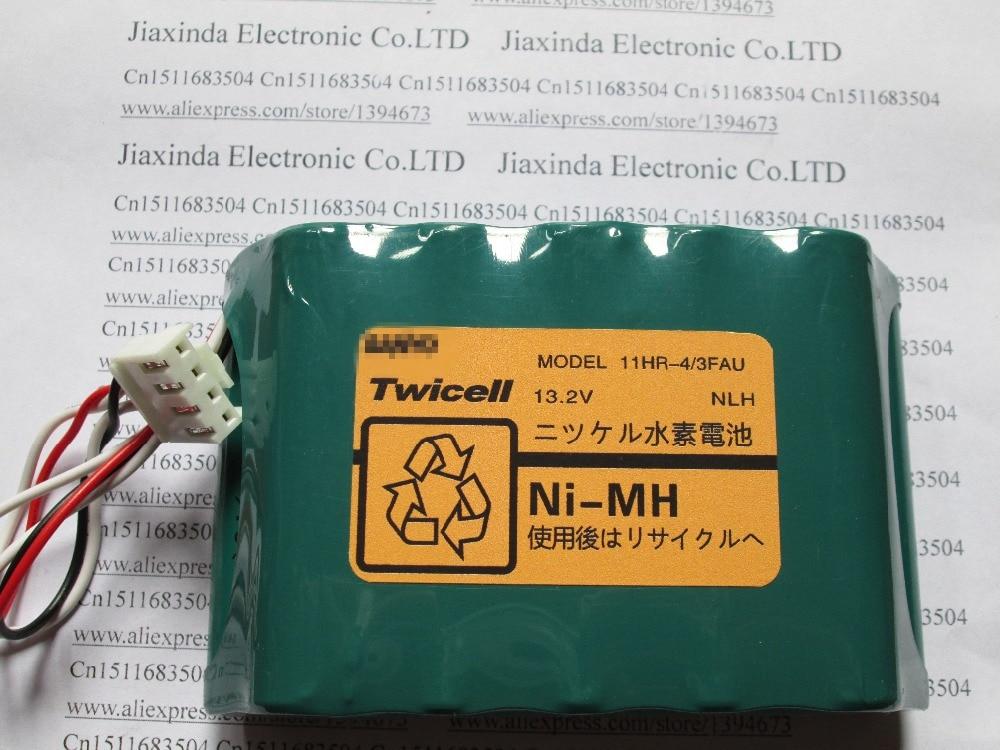 купить NEW 11HR-4/3FAU battery 11HR-4/3FAU 11HR4/3FAU 11HR4/3 11HR 13.2V 4500mah Twicell 50s 60s Rechargeable batteries with plug по цене 5438.44 рублей
