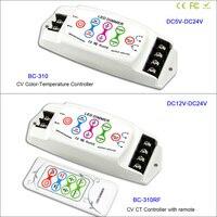 DC5V 24V 2channel Constant Voltaget Color temperature led controller wireless RF remote led dimmer for 5050 SMD led strip light