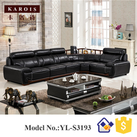 Luxury Chesterfield Living Room Furniture U Shaped Sectional Lovesac Sofa Furniture Guangzhou