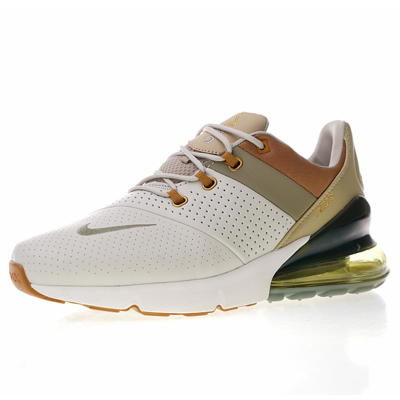 new product 44860 5d55b US $81.22 57% OFF|New High Quality Nike Air Max 270 Premium Men's Running  Shoes Outdoor Sneakers Breathable Shock Absorbing AO8283 200 AO8283 011-in  ...