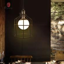 Art Decoration Fashion Fancy Hanging Lamp Pendant Light Iron Retro Cafe Restaurant Pub Hotel Lounge Droplight Dynasty Free Ship цена 2017