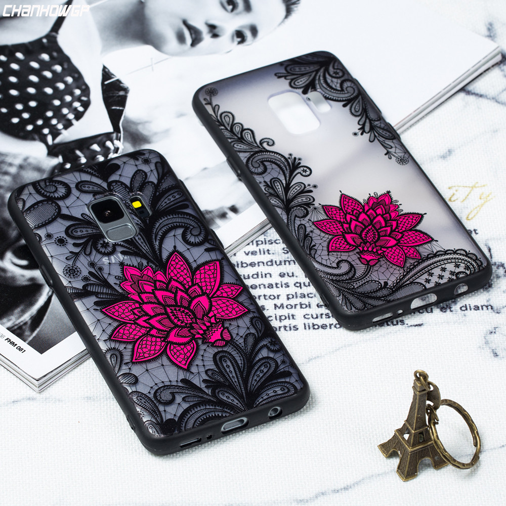 Lace Case For Samsung Galaxy S8 S9 Plus S6 S7 Edge J2 Pro J4 J6 J8 A6 A8 Plus 2018 A3 A5 A7 J3 J5 J7 2017 2016 Note8 Note9 Cover