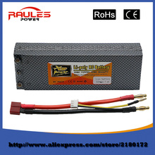 Free shipping 2S 7.4V 5200mAh 30C Lipo Battery Pack T Plug for RC Helicopter RC Airplane RC Hobby