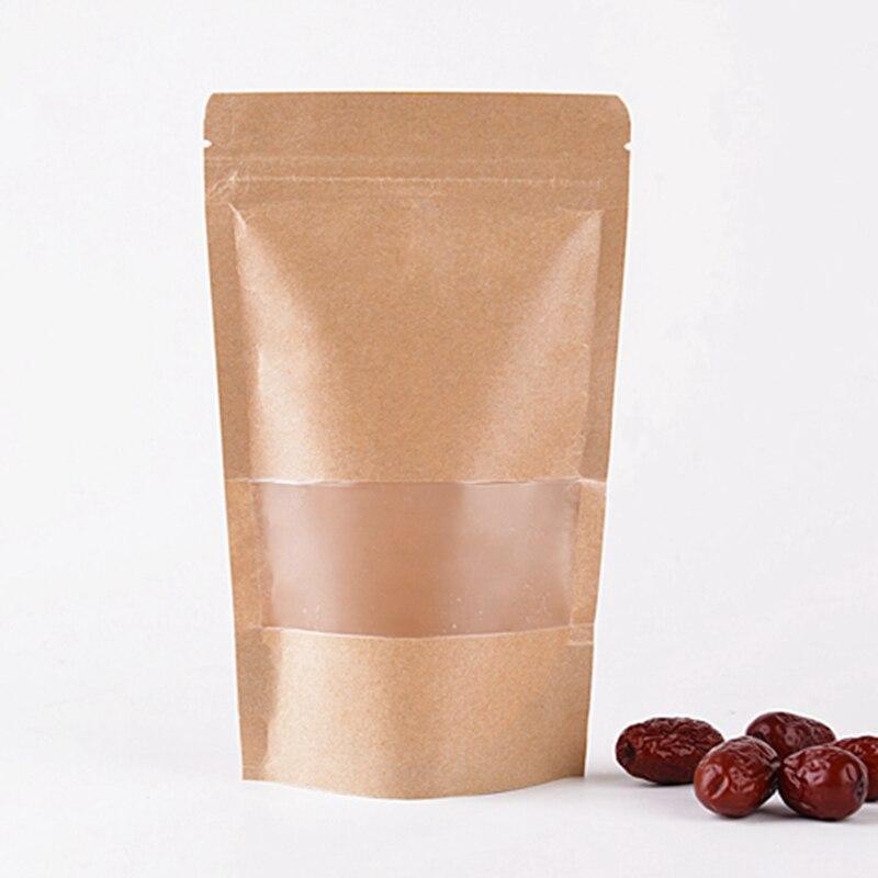 Bulk kraft bags promotion achetez des bulk kraft bags for Zip pour fenetre