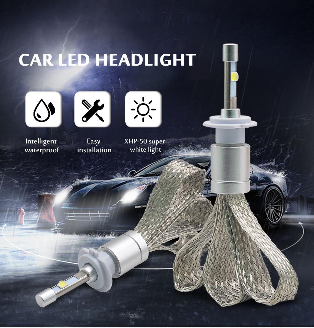 R3 LED Avtomobil HB3 90W 10000lm 9005 9006 HB4 Avtomobil Led Fara - Avtomobil işıqları - Fotoqrafiya 5