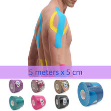 все цены на 3/6/10/15/20 pcs/lot Sports Athletic Tape Physio Strain Injury Support Muscle Care Sticker Kinesiology Elastic Bandage taping T онлайн