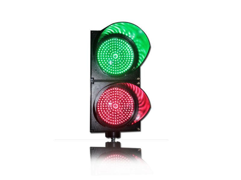 Купить с кэшбэком WDM 200mm PC Red Green Road Junction Traffic Signal Light