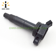 цена на CHKK-CHKK Car Accessory Ignition Coil 90919-02266 90919-02244 For Toyota Camry Lexus Scion Rav4 Highlander TC 2.4L UF333