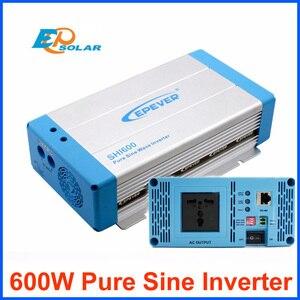 Image 1 - 600W di Potenza Inverter a Onda Sinusoidale Pura Epever Dc 12V 24V in Ingresso a Uscita Ac Off Grid Tie sistema di SHI600 Casa Sistema di Applicazione